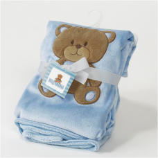 Big Oshi Teddy Super Soft Plush Baby Blanket.