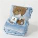 Big Oshi Teddy Super Soft Plush Baby Blanket.