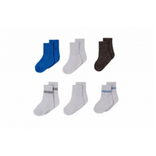 Big Oshi Baby Socks, 6-Pack