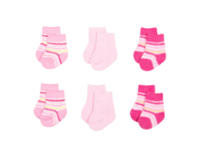 Big Oshi Newborn Baby Socks, 6