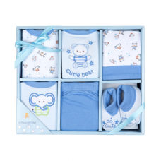 Big Oshi Baby 6-Piece Layette Gift Set