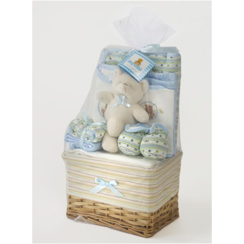 Specializing in Layette and baby gifts from newborn to 12 months. We provide A - Z service from wrapping to delivery.