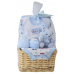Big Oshi Baby Essentials 9-Piece Layette Basket Gift Set.