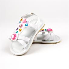Big Oshi White Girls Sandals