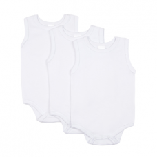 Big Oshi 3-Pack Sleeveless Bodysuits