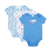 Big Oshi Hanging 3 Pack Baby Body Suits
