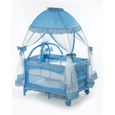Big Oshi Playard With Mosquito Net And Carry Bag.