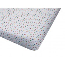 Big Oshi Fitted Knit Cotton Crib Sheet