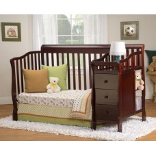 Big Oshi Elizabeth 4 in 1 Convertible Crib and Changer